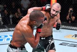 """Giga Chikadze hạ knockout """"Thần cước"""" Edson Barboza, thắng trận thứ 7 liên tiếp ở UFC"""