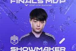 LMHT: Showmaker được tôn vinh MVP chung kết LCK Mùa Hè 2021