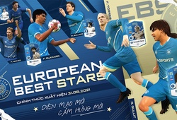European Best Stars - EBS FO4: Thẻ mùa giải mới của FIFA Online 4