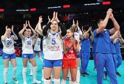 Hai đội bóng cuối góp mặt tại tứ kết giải bóng chuyền nữ VĐ châu Âu