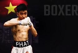 """Cùng đồng đội Thu Nhi, """"Ốc tiêu"""" Sẳm Minh Phát bước vào trận tranh đai WBO Oriental"""