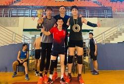 """""""Hot boy"""" Đức Hạnh vô địch giải bóng chuyền nội bộ chào mừng ngày Quốc khánh 2/9"""