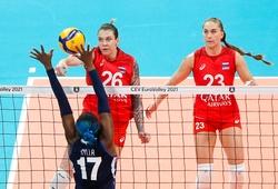 Tứ kết giải bóng chuyền nữ Vô địch châu Âu: Bất ngờ với những cô gái Nga