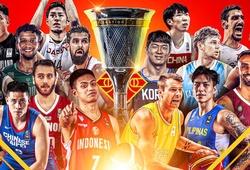 Xác định 16 quốc gia tham dự FIBA Asia Cup 2021, Đông Nam Á góp mặt 2 cái tên