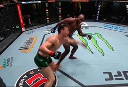 """Khalil Rountree Jr phá gối đối thủ bằng đòn đá triệt hạ nguy hiểm """"oblique kick"""""""