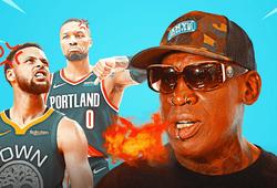 """Dennis Rodman chê Steph Curry, Damian Lillard: """"Đó không phải là bóng rổ"""""""