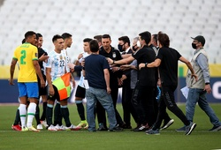 Trực tiếp Brazil vs Argentina: Trận đấu chính thức bị hoãn!