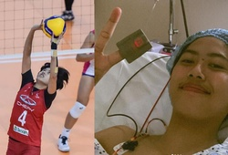 Nữ VĐV bóng chuyền Philippines 5 năm liền thi đấu cùng khối u đầu gối