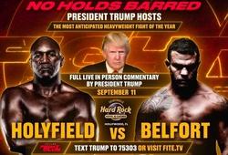 Lịch thi đấu sự kiện Boxing: Vitor Belfort vs Evander Holyfield