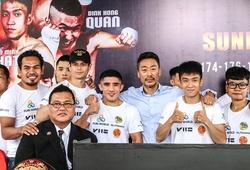 """""""Thiếu sự liên kết"""" - Nỗi niềm ông bầu Kim Sang Bum với Boxing chuyên nghiệp Việt Nam"""