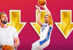 Chỉ số của Ben Simmons tụt thê thảm trong NBA 2K22