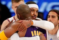 Vì sao Carmelo Anthony nhất quyết từ chối lời mời của Kobe và Lakers?