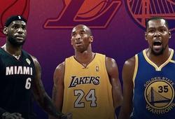 """Kobe phê phán quyết định """"chia tay kiếm nhẫn"""" của LeBron và Durant"""