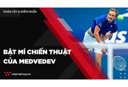 Bật mí chiến thuật giúp Daniil Medvedev đăng quang US Open 2021
