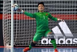 Hồ Văn Ý từng lọt Top 10 thủ môn futsal hay nhất thế giới