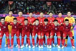 16 người hùng viết tiếp lịch sử cùng futsal Việt Nam ở World Cup 2021