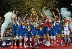 Sau 5 set kịch tính, Ý vô địch bóng chuyền nam châu Âu lần thứ 7