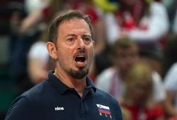 HLV ĐT bóng chuyền nam Slovenia từ chức sau hai lần giành HCB châu Âu
