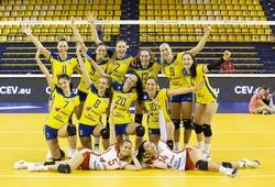Nhà vô địch Croatia thắng nhẹ trận mở màn giải bóng chuyền nữ Champions League