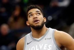 Bất chấp biến động, Karl-Anthony Towns quyết ở lại Minnesota Timberwolves