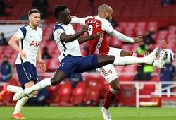 Đội hình ra sân Arsenal vs Tottenham: Aubameyang đấu Kane