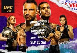 Xem trực tiếp UFC 266 ở đâu, kênh nào?