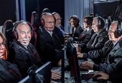 """Khi những VĐV """"gần đất xa trời"""" ngày càng đam mê ESports!"""