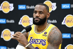 Từng từ chối, LeBron James nay đã tiêm vắc xin: Vì gia đình và mục tiêu vô địch NBA