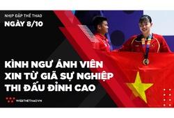 Nhịp đập Thể thao 8/10: Kình ngư Nguyễn Thị Ánh Viên xin từ giã sự nghiệp thi đấu đỉnh cao