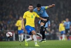 Lịch trực tiếp Bóng đá TV hôm nay 14/10: Brazil vs Uruguay