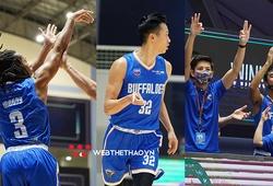 Hanoi Buffaloes dội cơn mưa 3 điểm lớn nhất lịch sử VBA, thắng đậm tuyển bóng rổ QG