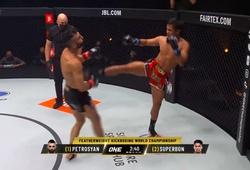 Superbon knockout Giorgio Petrosyan, lên ngôi vô địch ONE Featherweight Kickboxing