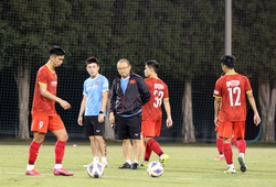 Đá dưới thời tiết 10 độ C, U23 Việt Nam lên phương án chống rét đặc biệt