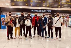 Nguyễn Thị Thu Nhi cùng các đồng đội cập bến Hàn Quốc, sẵn sàng tranh đai WBO thế giới