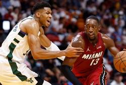 ĐKVĐ Milwaukee Bucks đại bại trên sân của Miami Heat