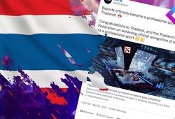 Esports được chính phủ Thái Lan công nhận là môn thể thao chính thức