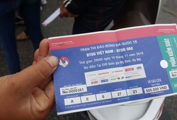 Giá vé thấp nhất xem tuyển Việt Nam ở Mỹ Đình là… 500.000 đồng