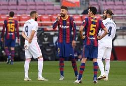 Đội hình ra sân Barcelona vs Real Madrid: Depay đọ súng Benzema