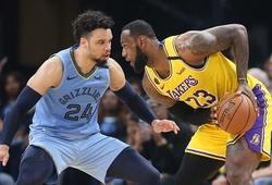 Nhận định NBA 2021-22: Memphis Grizzlies vs Los Angeles Lakers (Ngày 25/10 9h00)