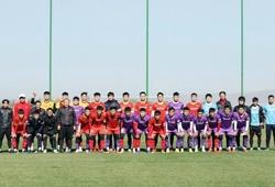 U23 Việt Nam đá nội bộ, HLV Park Hang Seo hài lòng