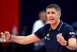 Không giành được vé đi Olympic, bóng chuyền Serbia sa thải HLV Slobodan Kovac