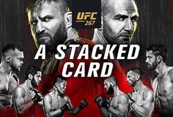 Lịch thi đấu UFC 267: Jan Blachowicz vs Glover Teixeira