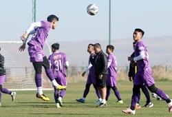 Đội hình ra sân U23 Việt Nam vs U23 Đài Loan: Văn Toản bắt chính