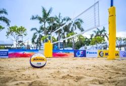 Sôi động ngày thi đấu đầu tiên giải bóng chuyền bãi biển Châu Á - AVC Continental Cup