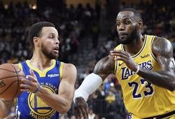 LA Lakers đụng độ Golden State Warriors ở ngày khai mạc NBA 2021/22