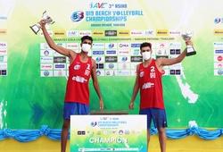 Tuyển nam Iran vô địch giải bóng chuyền bãi biển U19 Châu Á