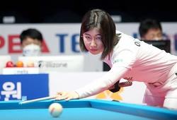 Vẻ đẹp tựa thiên thần của nữ cơ thủ Lee Mi-rae giải PBA Team League