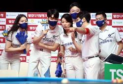 Đội Alphas của Mã Minh Cẩm đánh rơi chiến thắng trước Haitai Laon PBA Team League Round 2021/2022