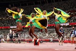 Jamaica giành vàng 4x100m nữ, phá kỷ lục quốc gia tại Olympic Tokyo