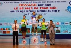Kết thúc giải xe đạp nữ Biwase 2021: Thu Mai giành cú đúp áo vàng – đỏ